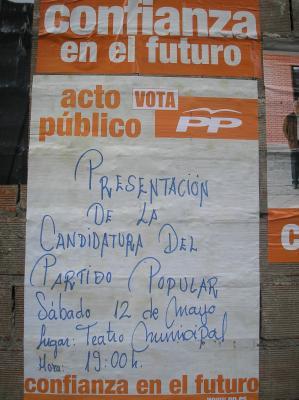 PRESENTACIÓN DE CANDIDATURA: